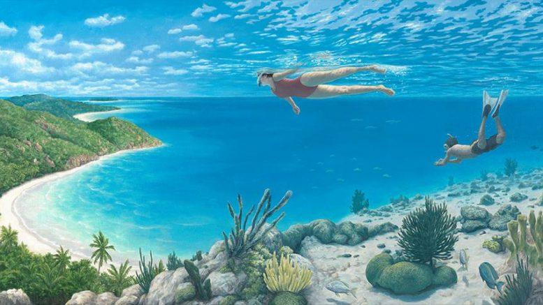 Beyond The Reef, de Rob Gonsalves.