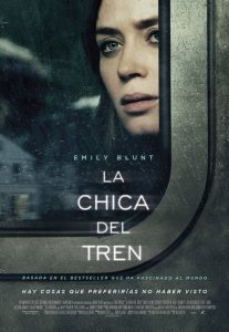 Cartel de La Chica del Tren, de Tate Taylor
