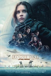 Cartel de Rogue One, una historia de Star Wars