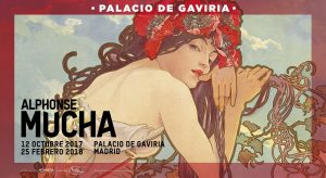Exposición de Alfons Mucha en el Palacio de Gaviria de Madrid