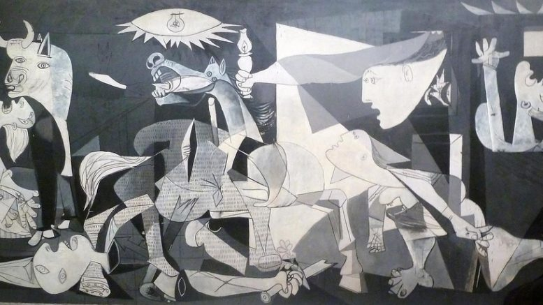 Piedad y terror en Picasso en Reina Sofía