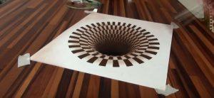 Agujero negro en 3D, de Stefan Pabst
