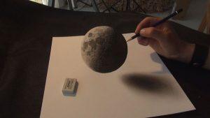 Luna en 3D, de Stefan Pabst