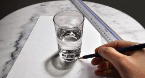 Vaso de agua en 3D, de Stefan Pabst