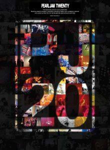 Cartel de Pearl Jam Twenty