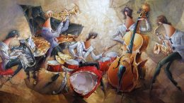 Nathan Brutsky y sus festivas pinturas figurativas