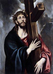 Cristo abrazado a la cruz, de El Greco