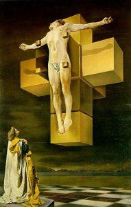 Crucifixión o Corpus hypercubus, de Salvador Dalí