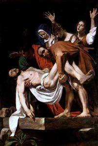 Entierro de Cristo, de Caravaggio
