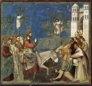 Entrada en Jerusalén, de Giotto di Bondone