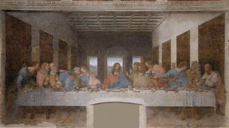 La última cena, de Leornardo Da Vinci, una de las 10 obras de arte fundamentales relacionadas con la Semana Santa