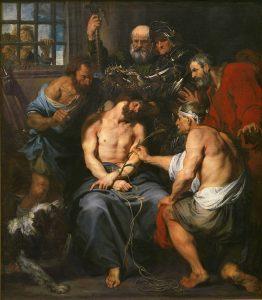 La coronación de espinas, de Van Dyck