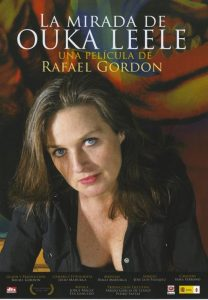 "Cartel de ""La mirada de Ouka Leele"", de Rafael Gordon."