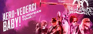 Cartel del Aero-Vederci, Baby! European Tour 2017 de Aerosmith