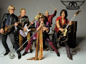 Foto promocional de Aerosmith