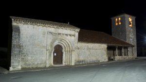 Iglesia de San Bartolomé y Capilla de San Galindo, en Campisábalos. Fotografía de Álvaro Horcajuelo.