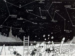 """Ilustración de Europa requiem, de """"El Hortelano""""."""