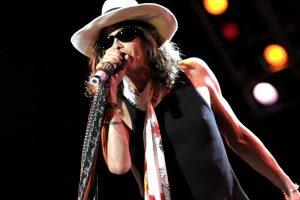 Steven Tyler, en un concierto de Aerosmith