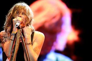 Steven Tyler, en un directo de Aerosmith