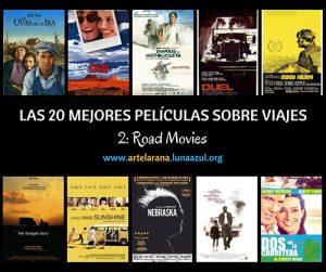 Las 20 mejores películas sobre viajes (2): Road Movies