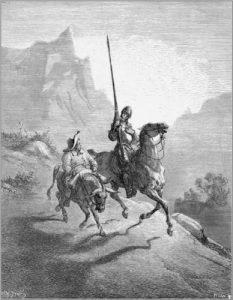 Don Quixote, de Gustavo Doré.