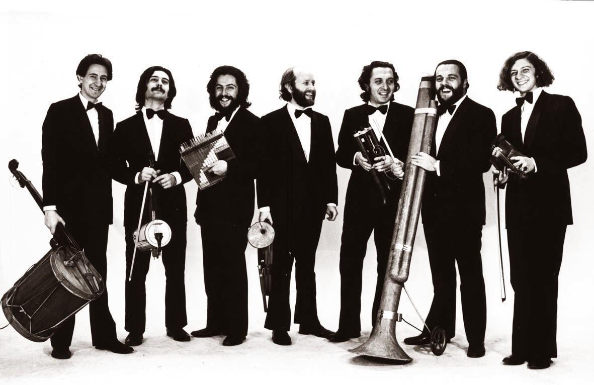 Les Luthiers en 1972