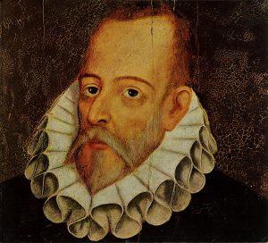 Retrato de Miguel de Cervantes, de Juan de Jauregui.