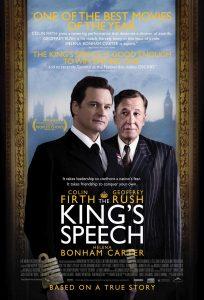 El discurso del rey, de Tom Hooper