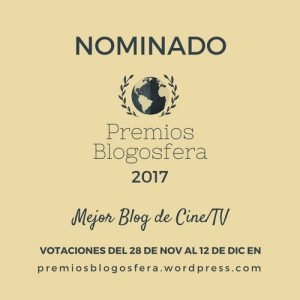 Artelaraña, nominado al Mejor Blog de Cine / TV 2017 en los Premios Blogosfera 2017