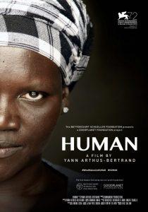Cartel de Human, de Yann Arthus-Bertrand.