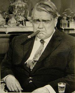 Orson Welles, en The Long, Hot Summer (1958) (El extraño sueño en el que grandes directores de cine me daban consejos)